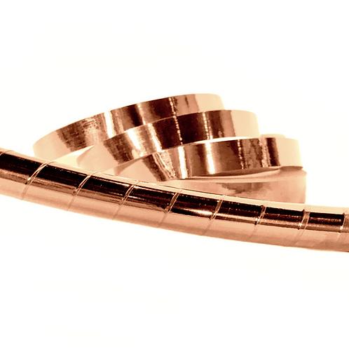 Copper Mirror Taped Hula Hoop