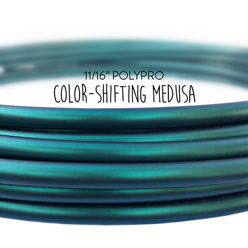 "11/16"" Color-shifting Medusa Polypro Hula Hoop"