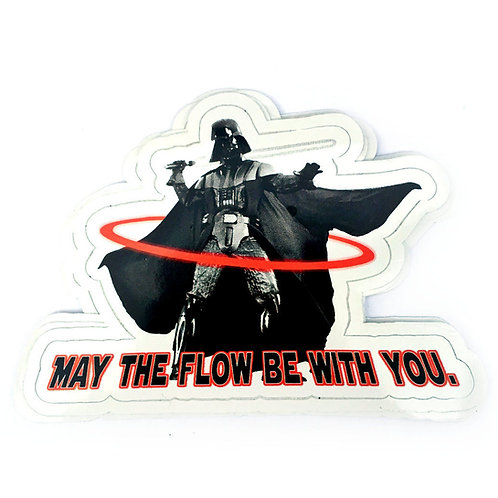 Hooping Vader Vinyl Decal Sticker