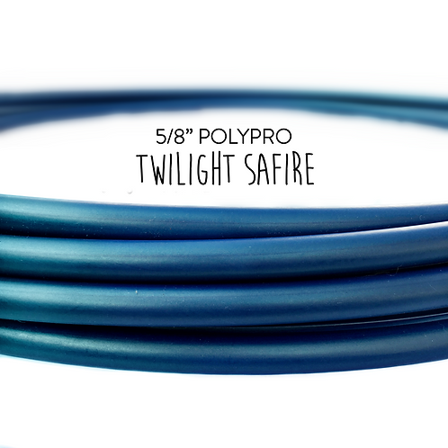 "5/8"" Twilight Safire Polypro Hula Hoop"