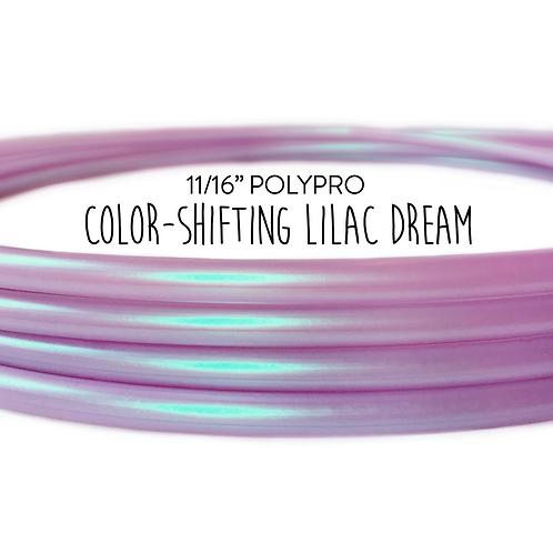 "11/16"" Color-shifting Lilac Dream Polypro Hula Hoop"