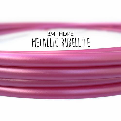 "3/4"" Metallic Rubellite HDPE Hula Hoop"