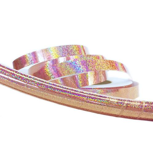 Rose Gold Glitter Taped Hula Hoop