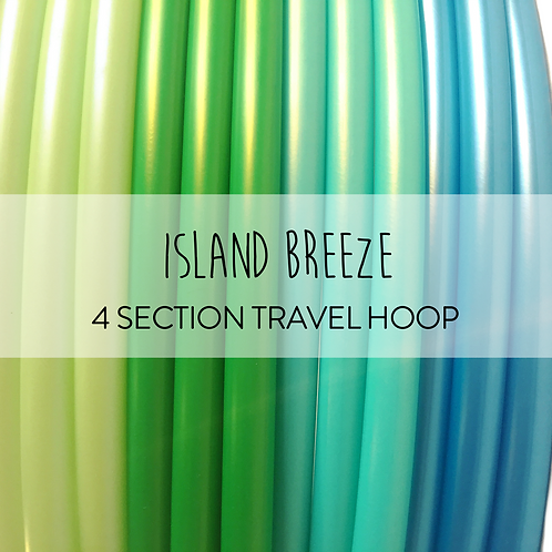 Island Breeze 4 Section Travel Hula Hoop