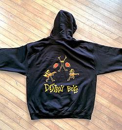 Destroy Boys Black Hoodie