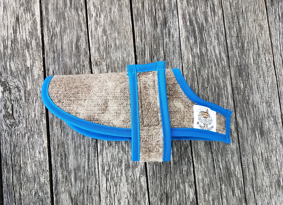 XX-Small Coat w/Pacific Blue Trim