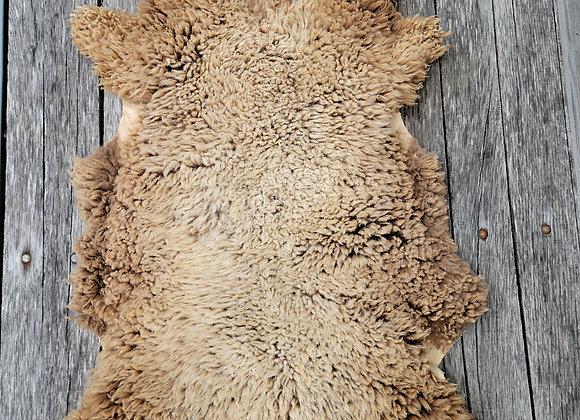 Naturally Tanned Full Sized Pelt