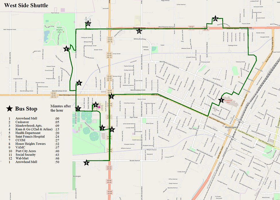 West Side Shuttle OSM with outline.png