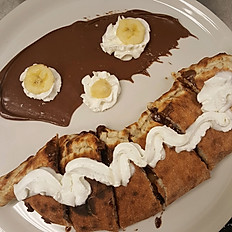 Nutella Calzone with Banana