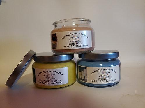 2 Wick - 8 Oz - Apothecary Candles