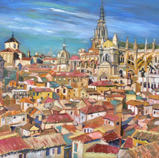 Red roofs of Toledo