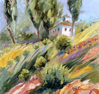 Tuscany Hillside