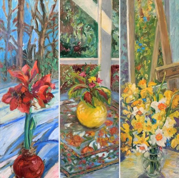Triptych - Studio window