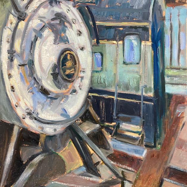 B&O museum locomotive