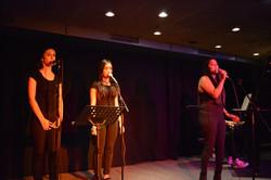 Mahogany Hall Vocal Art Konzert 2016 Mathusha Sellathurai mit Backing