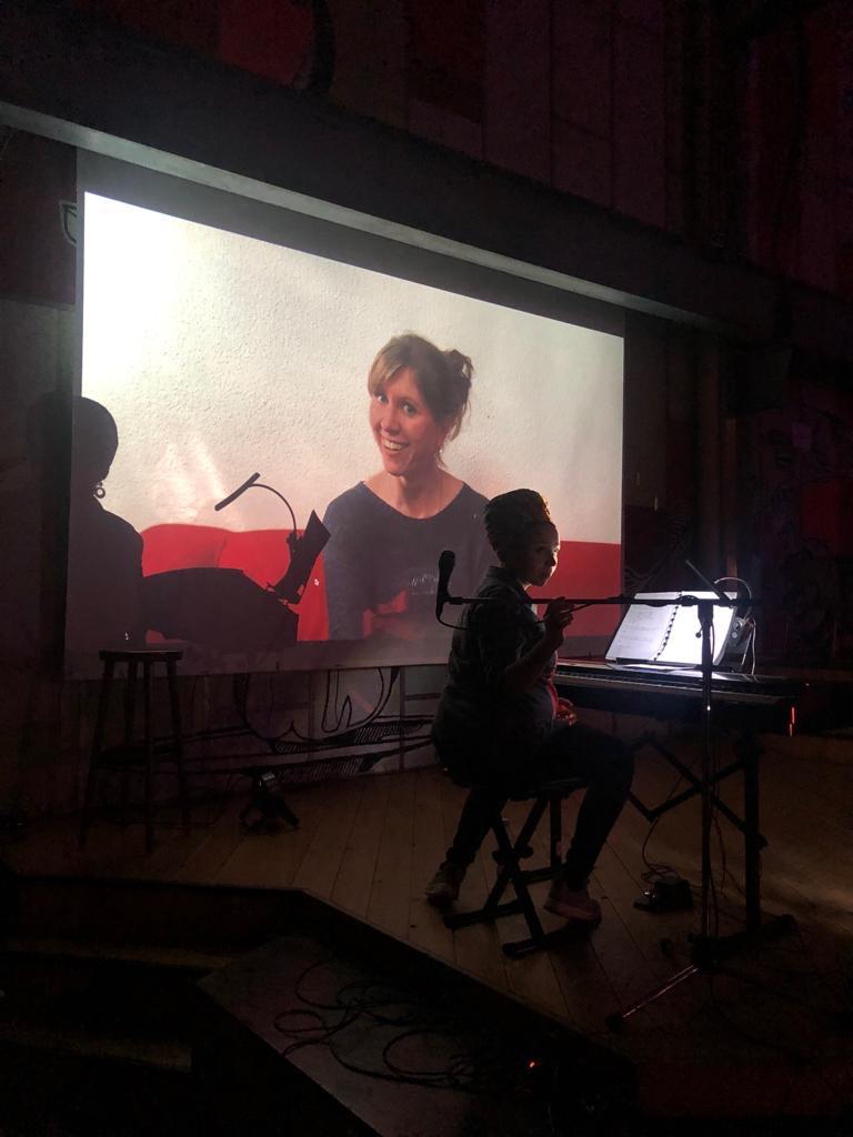 Schülerpräsentation Vocal Art Schülerin