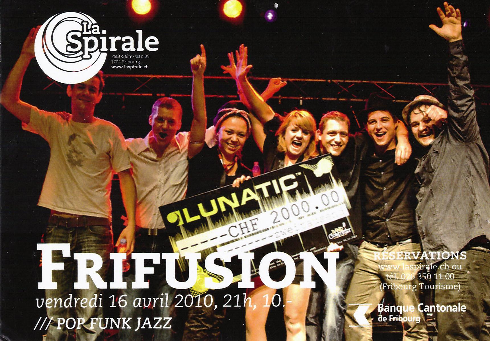 Lunatic Gewinner Frifusion Jasmin Joana Hirt