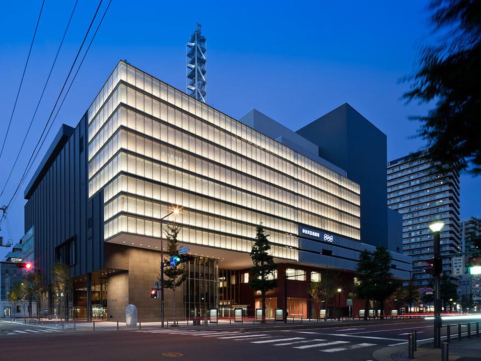 神奈川芸術劇場・NHK横浜放送会館 Kanagawa Arts Theater and NHK Yokohama
