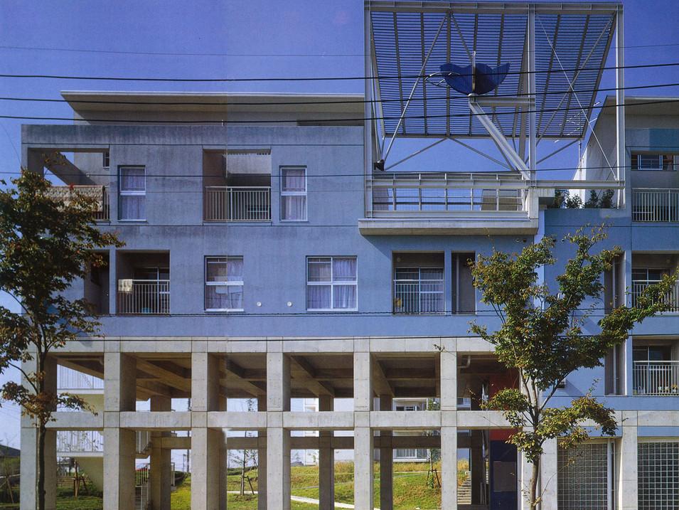茨城県営石岡南台アパート / Ibaraki Prefectural Housing, Ishioka-Minamidai