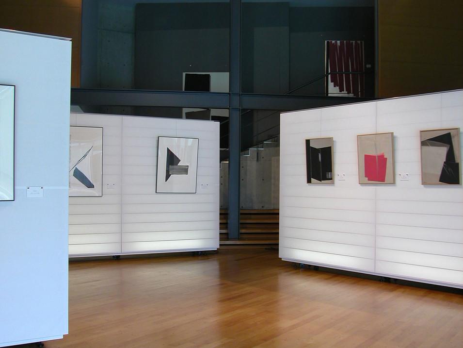 岐阜現代美術館展示ユニット Display walls for GICOMA