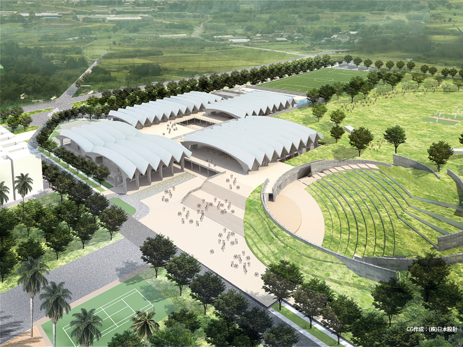 IITH 運動施設 Sports Complex, Indian Institute of Technology Hyderabad