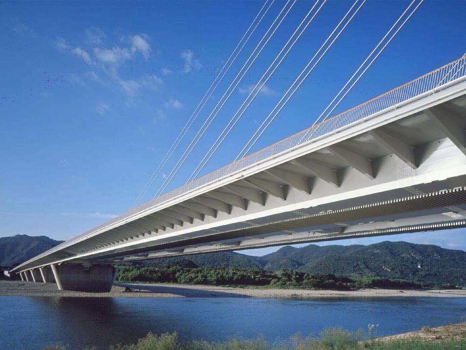 うかい大橋 Ukai Bridge