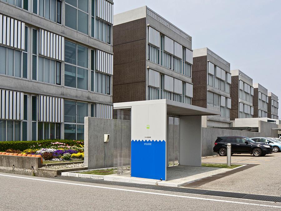 ちょいのり黒部(バス停・貸しだし自転車) Chyoi-nori Public Transportation Hub