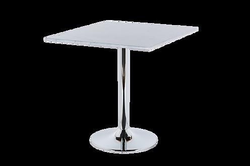 โต๊ะขาเดี่ยว สแตนเลส แชมเปญ