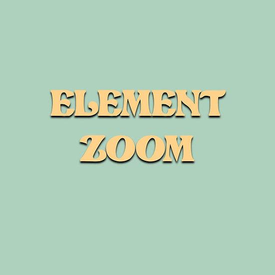 Element Zoom Event