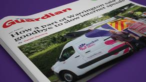 Freedom Fibre features in Warrington Guardian