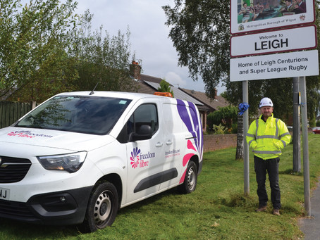 Freedom Fibre full-fibre network rollout confirmed for Leigh