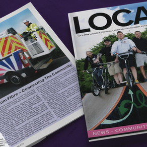 Freedom Fibre features in 'Local Mag'
