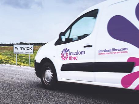 Freedom Fibre plans to extend full fibre into Winwick