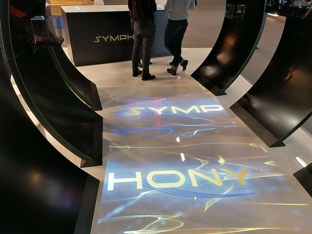 Interactive Floor Projection