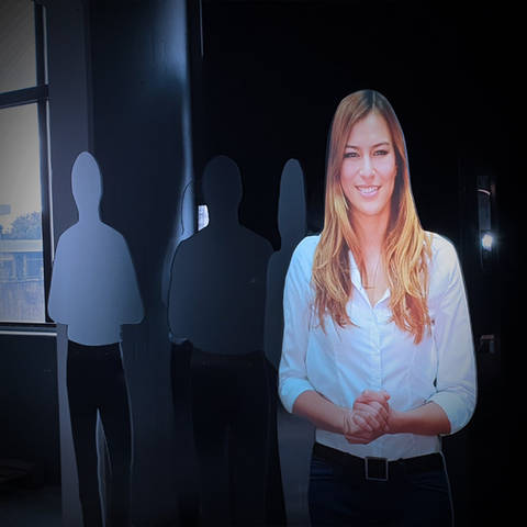 Virtual Host Hologram