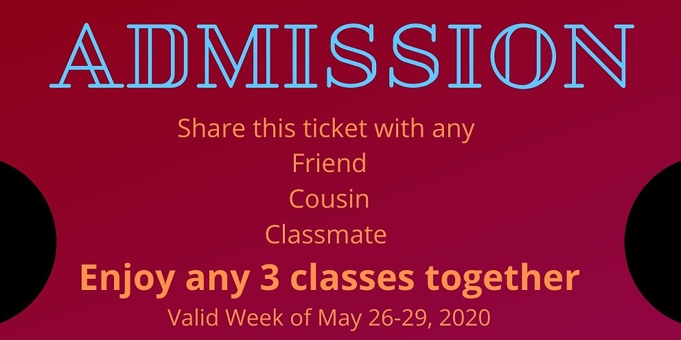 BYO WEEK 5/26 - 5/29