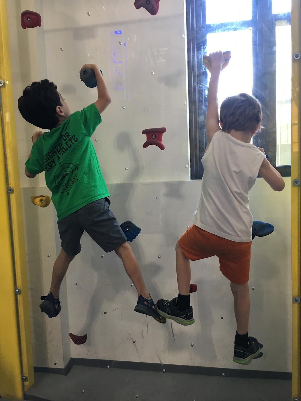 Rock Climbing Friends