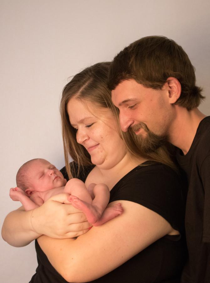 Brynlee Newborn- Indiana Newborn Photographer