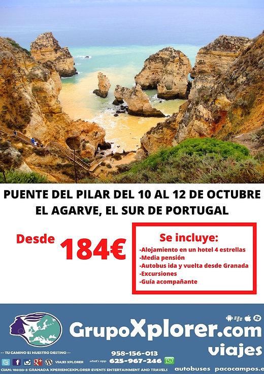 PUENTE DEL PILAR DEL 10 AL 12 DE OCTUBRE