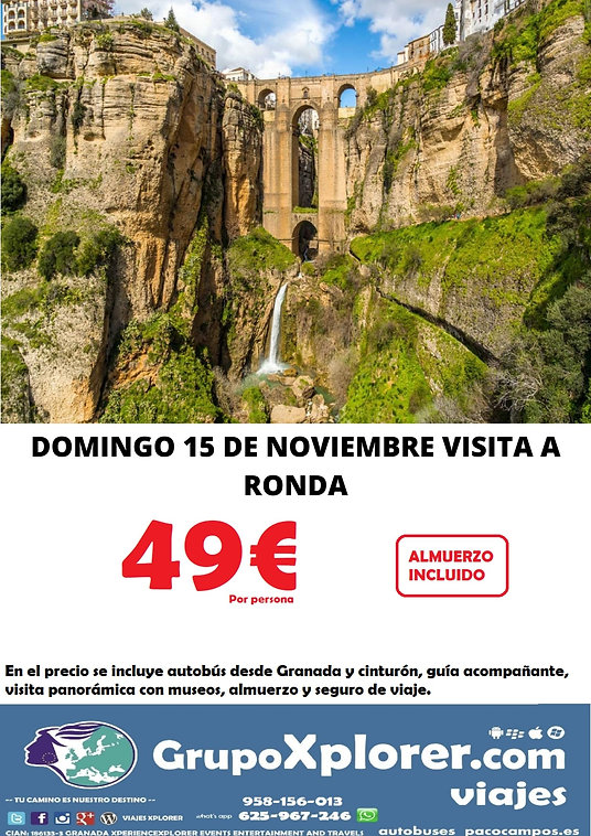 DOMINGO 15 DE NOVIEMBRE VISITA A RONDA.j