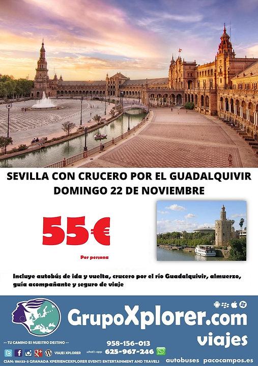 SEVILLA CON CRUCERO POR EL GUADALQUIVIR