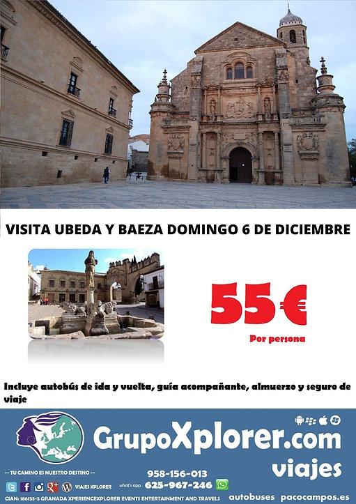 VISITA UBEDA Y BAEZA DOMINGO 6 DE DICIEM