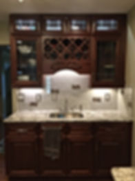Mahogany Kitchen