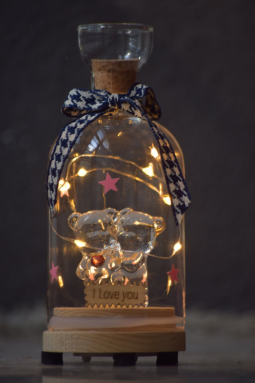 Bottle Teddy bear Lamp (GG-59)