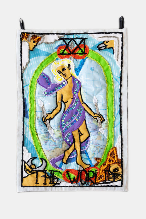 Berenike Corcuera - XXI The World, Taroracle Book Card Collection, Series III