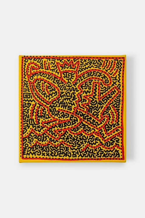 Eric Doeringer - Keith Haring (Square), 2021