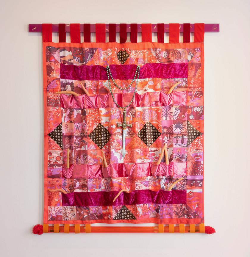 Alex Da Corte Vuitton Herald (with Arab Straps), 2014 166 x 137 cm