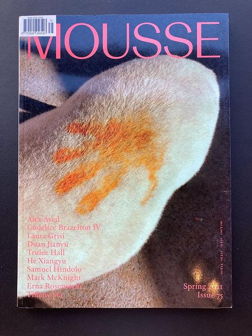 Mousse Magazine n˚75