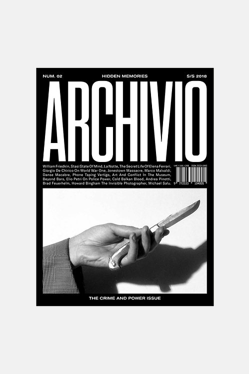 Archivio Issue 2 - The Crime and Power Issue