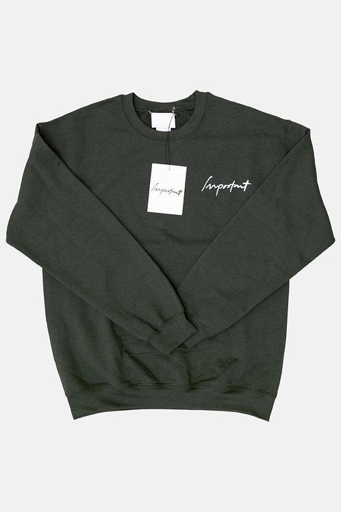 Classic IMPORTANT Sweatshirt (Green)